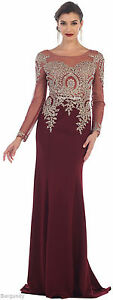 FORMAL PROM DRESSES STRETCHY EVENING MODERN MOTHER of THE BRIDE GOWNS PLUS SIZE
