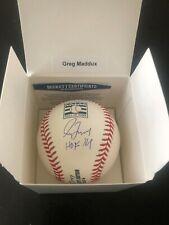 Greg Maddux auto baseball HOF 14