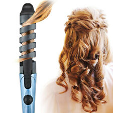 Electric Hair Curler Spiral Curling Iron Wand Roller Pro Wave Curl Machine Tools