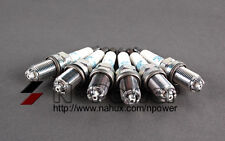 NGK PLATINUM SPARK PLUG SET OF 6 FOR 06/02 - 05/05 BMW 320i E46 2.2L M54 B22
