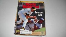 A's & Blue Jays- Pennant Fever -Sports illustrated 10/19/1992