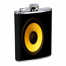 Speaker Em1 Flask 8oz Stainless Steel Hip Drinking Whiskey