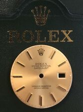 Rolex Vintage Champagne Index Dial T Swiss T For Datejust 16013 3035 36mm