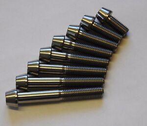 M7  TITANIUM SOCKET CONE CAP SCREWS