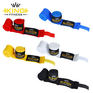 Power Hand Wraps Inner Gloves Bandages MMA Boxing Muay Thai Mexican Stretch.
