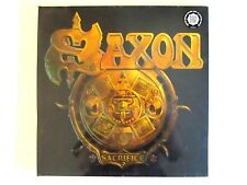 SAXON SACRIFICE LP RARE SEALED ORIG. 2012 IMPORT PICTURE DISC NWOBHM