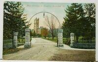 Kankakee Illinois Greetings, Entrance to Hospital Postcard I4