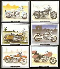 HARLEY-DAVIDSON 1980's Limited British Ed 6 Card Set WL FLH FXRT FLST DUO GLIDE