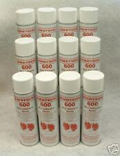 12 cans Spray Mist Adhesive Fabric Glue Embroidery Lot