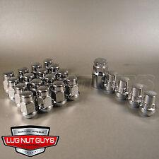 LUG NUTS & WHEEL LOCKS BULGE ACORN 12x1.5 CHROME INSTALL KIT FOR 5 LUG