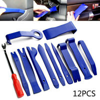 12Pcs Car Trim Door Panel Removal Molding Set Kit Pouch Pry Tool Interior DIY