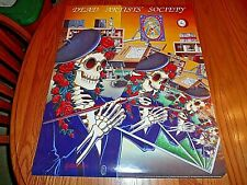 The Grateful Dead Dead Artists Society 1991 Vintage Wall Poster By G. Kroman