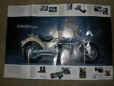 NOS BMW OEM 1997 R1200 C Poster German Text 31 in x 21 in