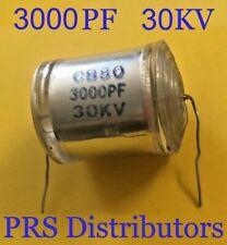 Film Capacitor 3000pf 30kv Cb80 For Marx Generator Ham Audio Dc Pulse Circuits