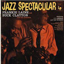 FRANKIE LAINE/BUCK CLAYTON jazz spectacular U.S. COLUMBIA LP CL-808_orig 1956