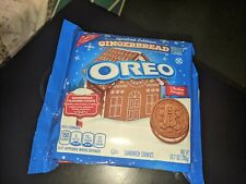 NEW Gingerbread Oreo Cookies (Limited Edition) FALL 2020