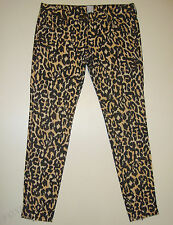 "BEAUTIFUL SASS&BIDE LEOPARD PRINT SKINNY FIT JEANS 28 ""MAJOR RAYS ZIPPORA"""
