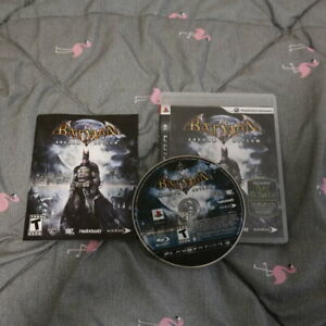 Batman: Arkham Asylum BLACK LABEL (PlayStation 3, PS3 2009) Tested