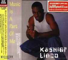 Kashief Lindo - MUSIC IS A PART OF ME - Japan CD - NEW
