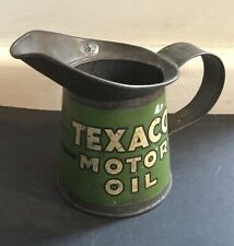 More details for rare original 1930s texaco motor oil one pint pourer in great condition.
