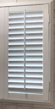 New Poly Plantation Shutters Top Quality Any Size Up To 24x36 W/frame Shipped!