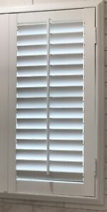 NEW Poly PLANTATION SHUTTERS  TOP Quality Any Size Up To 24x36 W/frame Shipped!!