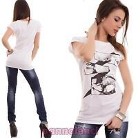 Maglietta donna maglia t-shirt stampa manga fumetto avvitata nuova CC-1244