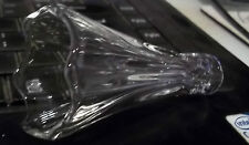 Next Small clear Glass Lamp Shade fits padua next 8 light  . ( replacement)
