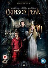 CRIMSON PEAK       BRAND  NEW SEALED GENUINE UK  DVD