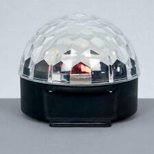 Multicolore del 19cm boule de cristal PROJECTEUR PREMIER ECLAIRAGE Noël lv151069