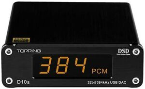 Topping D10S HiFi USB DAC with ES9038Q2M Chip, Analog Digital Output
