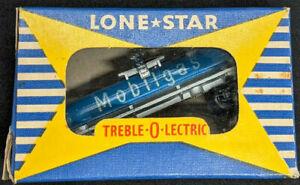 Lone Star Locos: Treble-O-Lectric MOBIL GAS TANKER, RARE. OOO gauge N, Die Cast