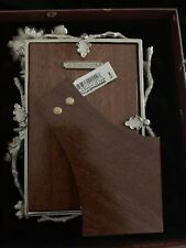 """Jay Strongwater  Floral Branch 4"""" x 6"""" Photo Frame -"""