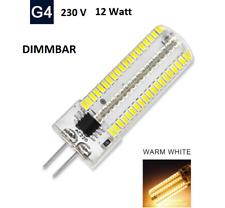 G4 12Watt LED Lampe 230V Stiftsockel Leuchtmittel, Birne Licht 152 Led Dimmbar