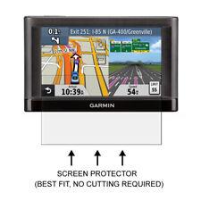 3x Garmin Nuvi 42 42LT 42LM 42LMT Clear LCD Screen Protector Shield Film 4.3''
