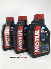 Lubricante Mineral Motor Quad Motul ATV-UTV 4T 10W40, Pack 3 Litros