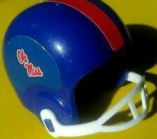 1990 NCAA Vintage Mississippi REBELS Ole MISS gumball football helmet college 1