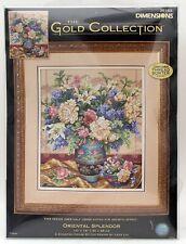 Dimensions Gold Collection Cross Stitch Oriental Splendor Flower Vase 35163