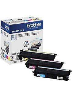 Brother TN-431 3PK Tri-Color Toner Cartridges 3/Pack See Description!