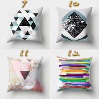 Creation Boho Geometric Pillow Case Waist Cushion Cover Sofa Car Home Decor