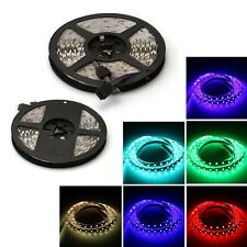 5M 150/300/600 LEDs luz de tira de cinta impermeable Multicolor Fiesta Flexible