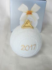 Lladro 2017 Christmas Holiday Re-Deco Ball With Ribbon Brand New In Box #18425