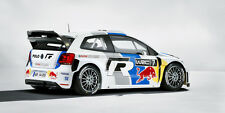 2013 VOLKSWAGEN POLO R WRC RALLY RACE CAR POSTER PRINT STYLE B 18x36