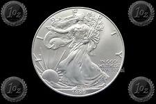 US / UNITED STATES $1 DOLLAR 1999 ( SILVER EAGLE ) 1oz SILVER Coin (Ag .999) UNC