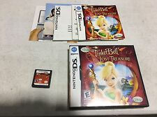 Disney Fairies: Tinker Bell and the Lost Treasure (Nintendo DS, 2009) COMPLETE