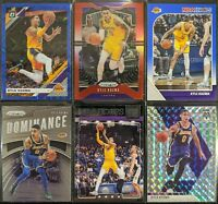 Lot of (6) Kyle Kuzma, Including Prizm red /299, Optic/Mosaic parallels & more