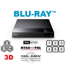 SONY BDP-S6500 ALL REGION FREE BLU-RAY DVD PLAYER - 4K Upscaling A+B+C Zones