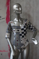 Da Donna Body Marine Cotone Top 90er True Vintage 90s WOMAN BODY COTTON