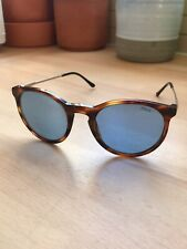 ea7c7cfdb659 Mens Polo Ralph Lauren Round Tortoiseshell And Metal Sunglasses