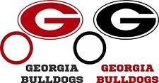 Georgia Bulldogs Corn hole Board Decals Set of 6 Vinyl Decal Stickers cornhole